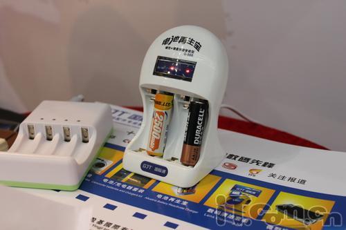 复活旧电池 电池再生宝亮相电子展